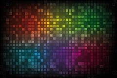 Farben-Spektrum-Auszugs-Hintergrund Stockfoto