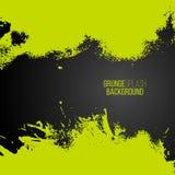 Farben-Spritzenrahmen des Vektors grüner Lizenzfreie Stockbilder