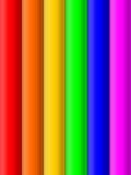 Farben-Streifen stock abbildung