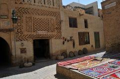 Farben in Tunisi stockfotografie