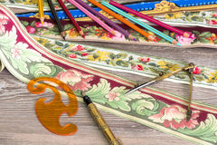Farben und Muster für das Haus Lizenzfreies Stockfoto