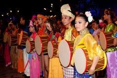 Farben von 1 Malaysia-Festival 2011 Stockfotos