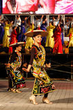 Farben von 1Malaysia 2010 Stockbilder