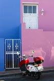 Farben von BO-Kaap lizenzfreie stockfotos