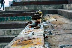 Farben von Indien stockfotos