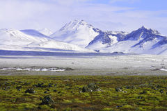 Farben von Island Stockbild