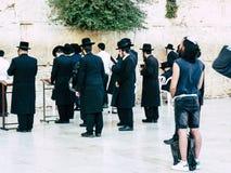Farben von Jerusalem Stockfoto