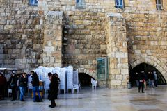 Farben von Jerusalem in Israel lizenzfreie stockfotos