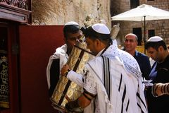 Farben von Jerusalem in Israel Stockbild