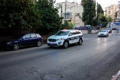 Farben von Jerusalem in Israel Stockfotografie
