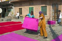 Farben von Jodhpur, Indien Stockfoto