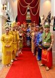 Farben von Malaysia Lizenzfreies Stockfoto