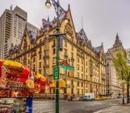 Farben von New York Upper West Side Stockfotos