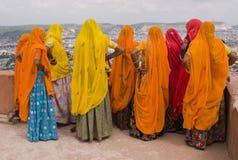 Farben von Rajasthan Stockbild