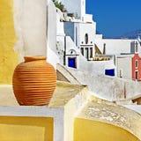 Farben von Santorini lizenzfreie stockfotos