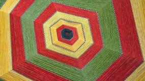 Farben von Seilen Stockfotografie