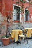 Farben von Venedig Stockfoto