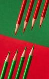 Farben von Weihnachten Stockfotografie