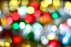 Farben von Weihnachten Stockbild