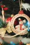 Farben von Weihnachtsdekorationen Lizenzfreies Stockfoto