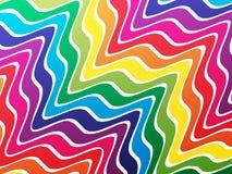 Farben-Wellen Lizenzfreie Stockfotos