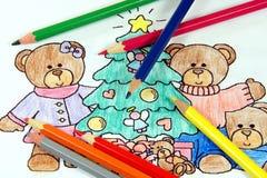 Farben-Zeichnung Stockbilder