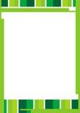 Farben-Zeile Rand Lizenzfreies Stockfoto