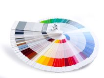Farbenanleitung Stockfoto