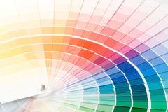 Farbenanleitung. Lizenzfreie Stockfotografie