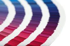 Farbenanleitungnahaufnahme Lizenzfreie Stockbilder