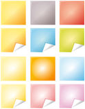 Farbenanmerkungen Stockbilder
