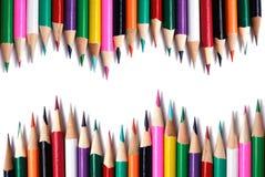 Farbenbleistift Stockfotos