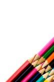Farbenbleistift. Stockbilder