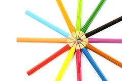 Farbenbleistift lizenzfreie stockfotografie