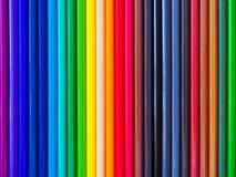 Farbenbleistift. Stockfoto