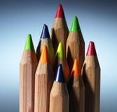 Farbenbleistift Stockfoto