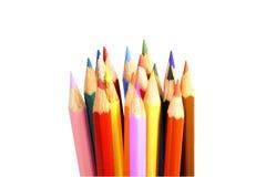 Farbenbleistifte Lizenzfreies Stockbild