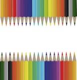 Farbenbleistifte Lizenzfreies Stockfoto