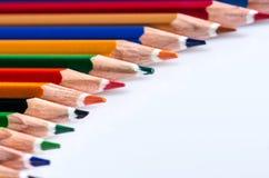 Farbenbleistifte Stockbild