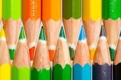 Farbenbleistifte lizenzfreie stockbilder