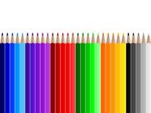 Farbenbleistifte lizenzfreie abbildung