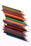 Farbenbleistifte Stockfotos