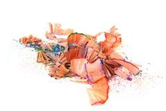 Farbenbleistiftrasieren Stockfotos