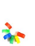 FarbenBleistiftspitzer Stockfotografie