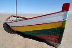 Farbenboot lizenzfreies stockbild