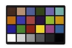 Farbendiagramm Stockfoto
