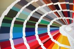 Farbendiagramm lizenzfreies stockbild