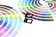 Farbendiagramme Lizenzfreie Stockfotografie