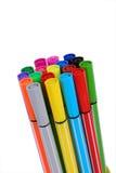 Farbenfeder Stockbild