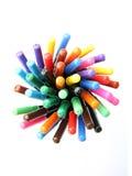 Farbenfedern Stockbilder